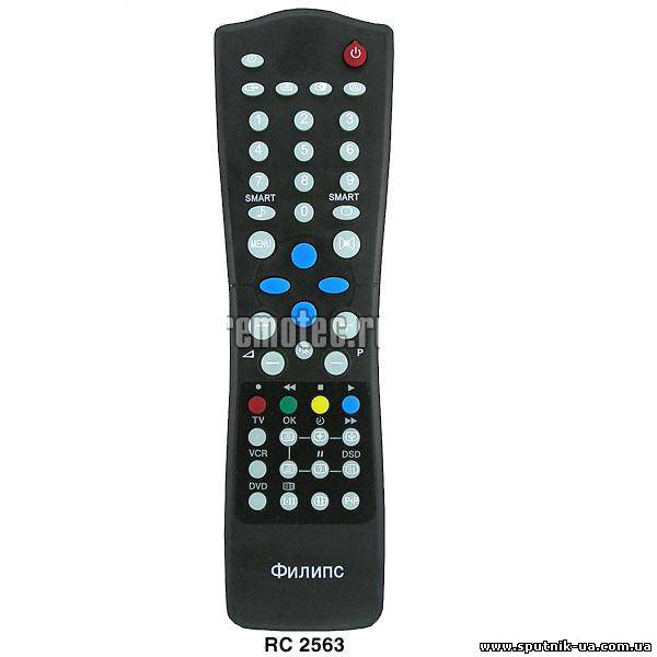 TV пульт  12-27  PHILIPS RC-2563-01 (S C0/D 0C/F 3010)
