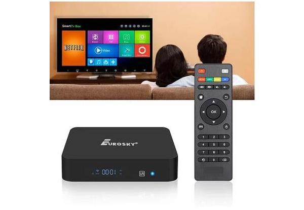 EUROSKY S905X 2G/16G Android Smart TV Box  приставка