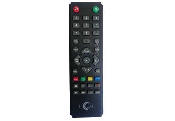 uClan (U2C) B6 Full HD, uClan (U2C) B6 CA Full HD, uClan (U2C) B6 Full HD METAL SAT пульт 38-231